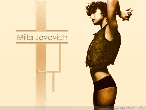 milla jovovich wallpaper called Milla Jovovich