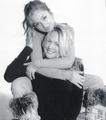 Minka & her mom