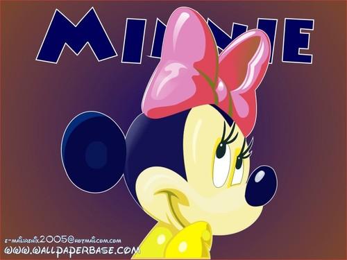 Minnie 老鼠, 鼠标