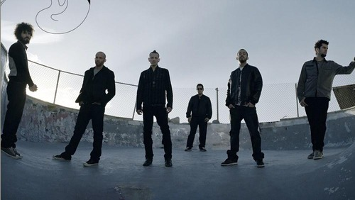 Linkin Park fond d'écran titled minutes to Midnight Promo