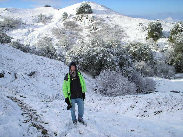 Mission Peak Snow
