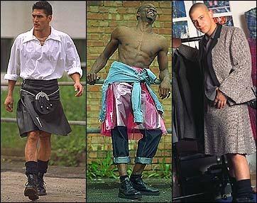 Modern kilts for men