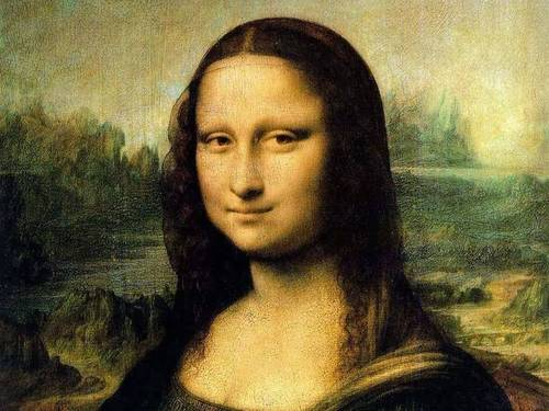 Mona Lisa by Da Vinci - fine-art Wallpaper