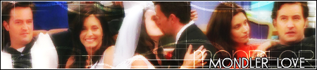 Monica and Chandler wallpaper titled Mondler<333