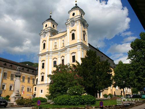 ইউরোপ দেওয়ালপত্র called Mondsee, Austria