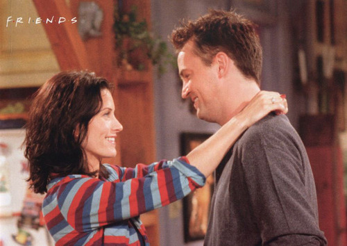 Monica and Chandler wallpaper entitled Monica & Chandler