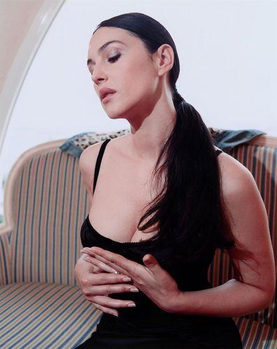 Monica Bellucci fotografia Shoot