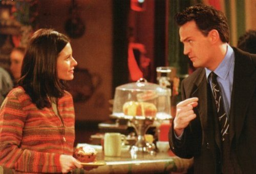 Monica and Chandler wallpaper called Monica and Chandler