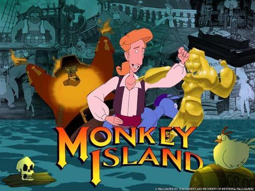 Fan T Shirt Monkey Island