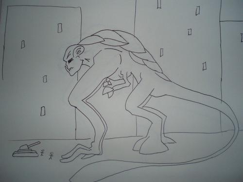 Monster Revealed in Fan Art