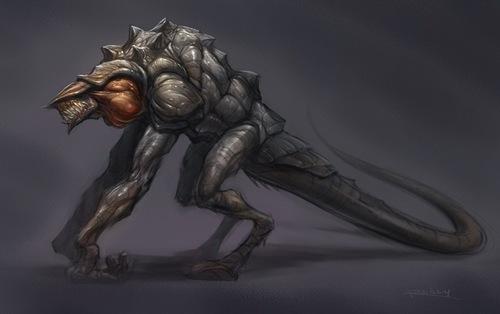 Monster Revealed in অনুরাগী Art