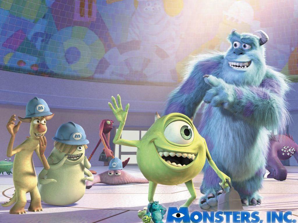 monsters inc pixar wallpaper 67283 fanpop