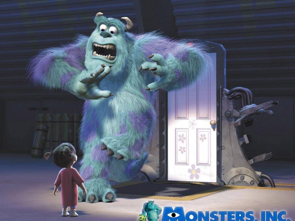 monsters inc pixar wallpaper 67288 fanpop