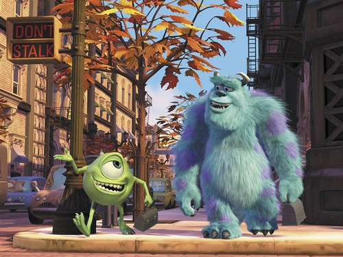 Pixar fond d'écran called Monsters Inc.