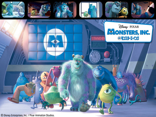 Pixar images Monsters Inc. HD wallpaper and background photos