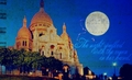 Montmartre, Paris - travel fan art
