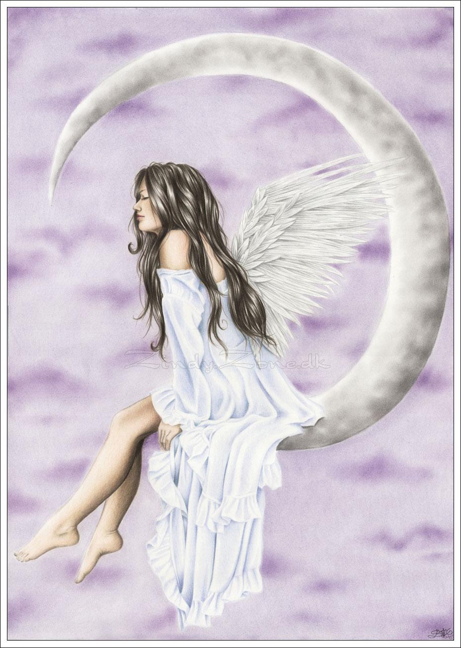 Moon Angel Angels Photo 527583 Fanpop