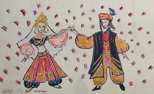Moorish dancers