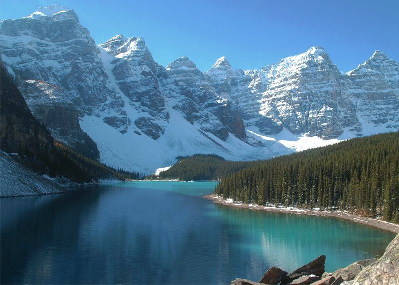 Moraine Lake, BC - Canada Photo (55818) - Fanpop