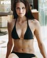 Morgan in bikini
