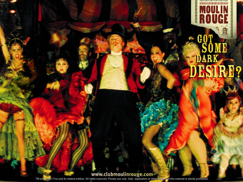 Film wallpaper entitled Moulin Rouge