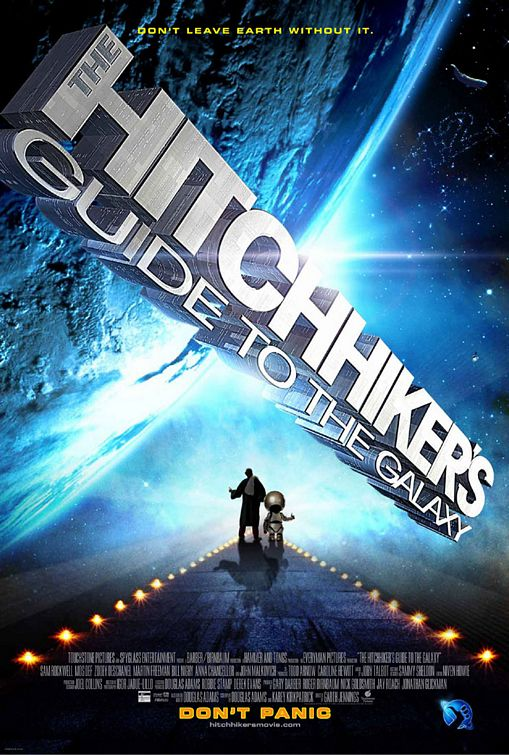 hitchhikers guide to the universe the movie: