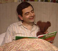 Mr. Bean and Teddy - mr-bean photo