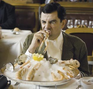 Mr. bohne in Mr. Bean's Holiday