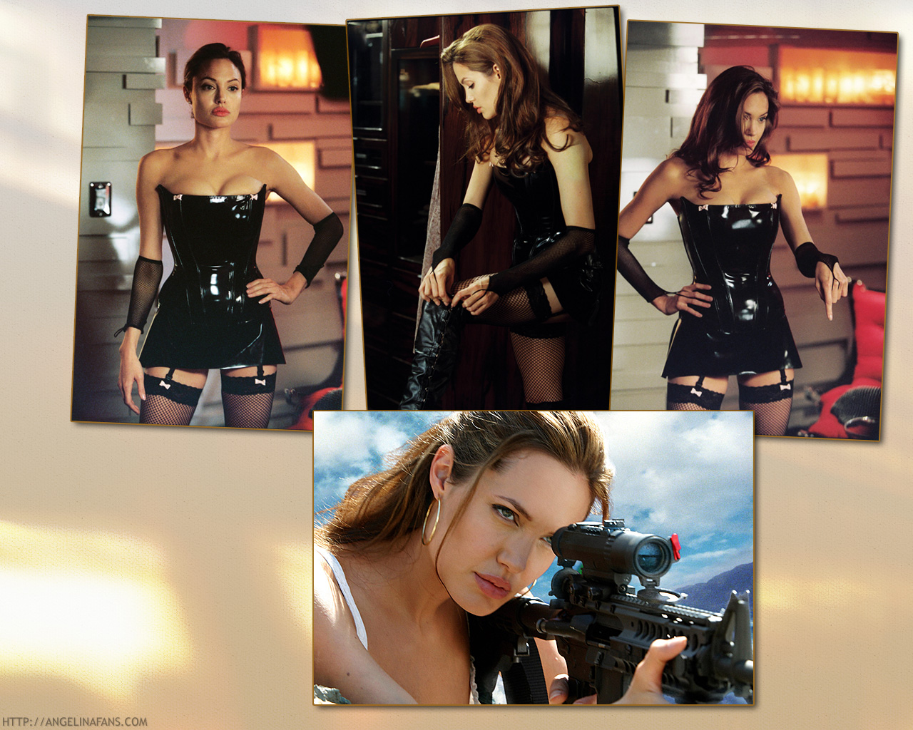 Mr. & Mrs. Smith - Angelina Jolie Wallpaper (741679) - Fanpop fanclubs ...