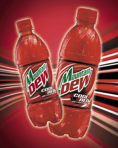Mt Dew Code Red
