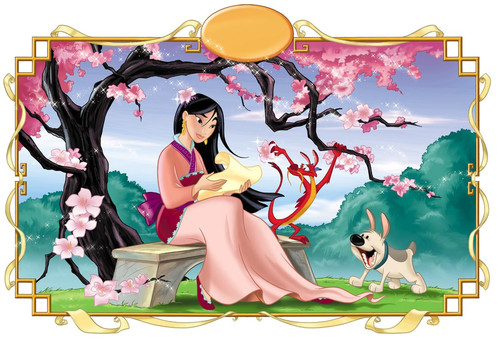 Classic Disney wallpaper entitled Mulan
