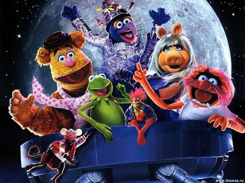The Muppets wallpaper called Muppets From luar angkasa