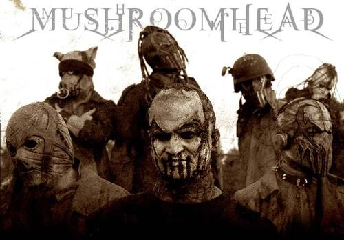 Metal wallpaper called Mushroomhead