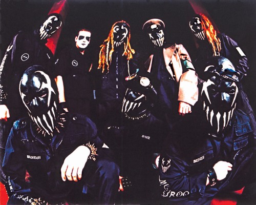 Metal wallpaper titled Mushroomhead