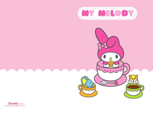 Sanrio wallpaper entitled My Melody