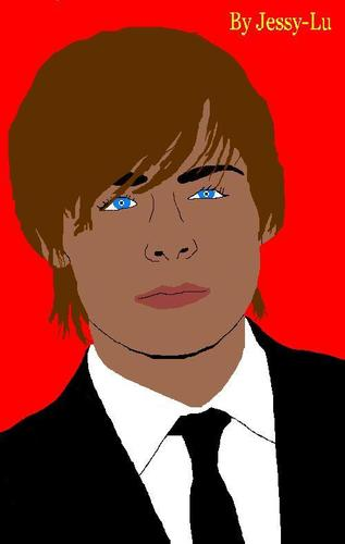 My Zac Efron Painting