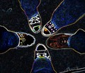 My friends & I in Chucks - converse fan art