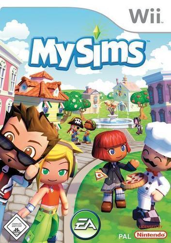 MySims Wii box art