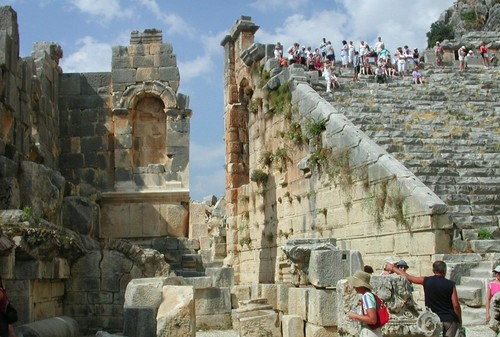 Ancient History wallpaper entitled Myra, Turkey