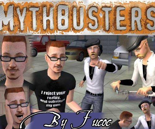 Mythbusters shabiki Art