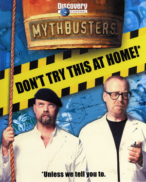 MythBusters wallpaper entitled Mythbusters