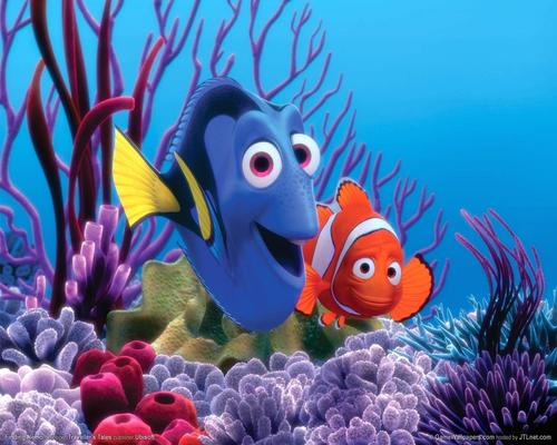 Finding Nemo kertas dinding called NEMO