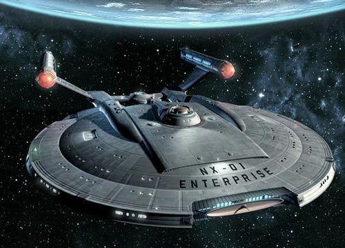 ngôi sao Trek - Enterprise hình nền called NX 01