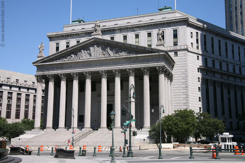 New York Обои called NY County Courthouse