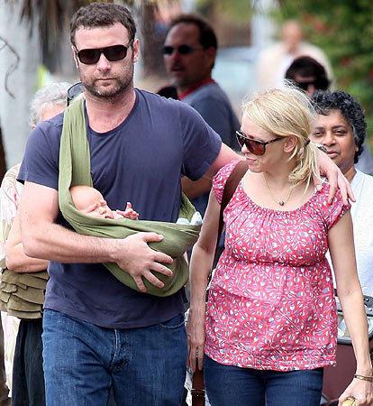 Naomi, Liev & Baby Alexander