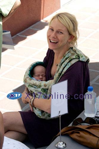 Naomi Watts & Baby Alexander
