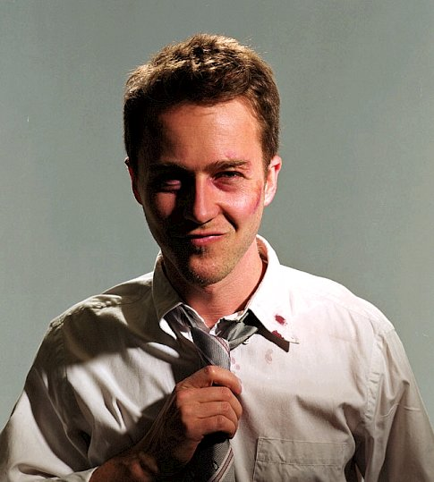 diagnosing the narrator from fight club Fight club is a 1999 film about an insomniac office worker, looking for a way to change  1 narrator 2 tyler durden 3 marla singer 4 dialogue 5 taglines 6 cast  to other corporate gimmicks for solutions, and treating them like a religion.