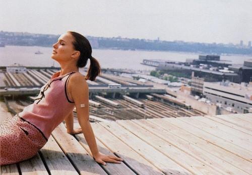 Natalie Portman in Nylon