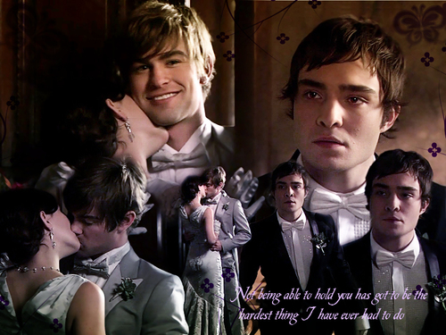 Gossip Girl wallpaper called Nate/Blair/Chuck