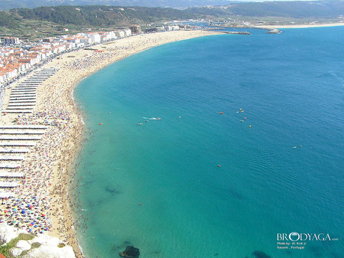 Europe Wallpaper Called Nazare Portugal
